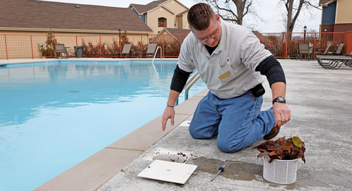 Swimming Pool Cleaning Service